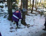 境地区 針孔用材の伐採を行いました