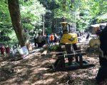 建方資材搬入のお手伝いを行いました