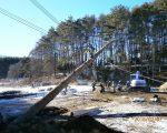 建て御柱の練習が行われました
